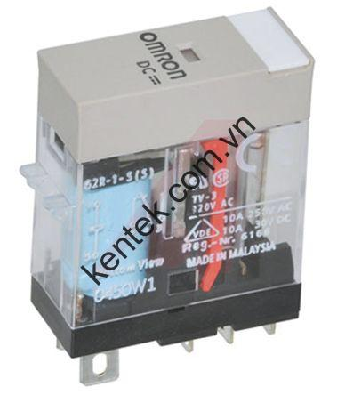 Relay 5 chân không đèn led DC12 G2R-1-S DC12(S) BY OMB